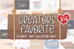 The Creator's Favorite Font Bundle Product Image 1