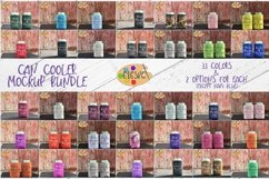 Can Cooler Mockup Bundle 33 Color Choices Product Image 1