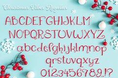 Christmas Font   Christmas Split Monogram Font Product Image 2