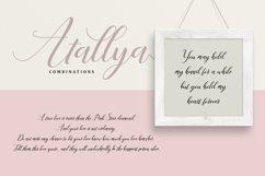 Web Font Atallya Script Product Image 2