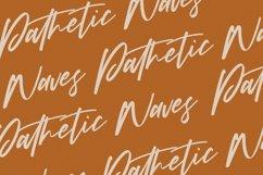 Babotta Clean Slanted Script Font Product Image 7