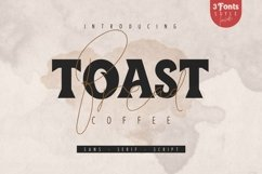 Toast Bread Coffee Typeface Product Image 1