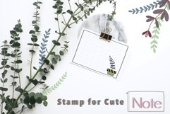 Procreate Brush Stamp Trendy Planner-Planner Procreate Brush Product Image 4