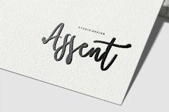 Web Font Sahrul - Modern Brush Script Font Product Image 3