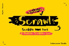 Scrawl | Scribble Font Product Image 1