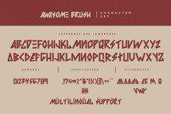 Awesome Brush Font Product Image 5