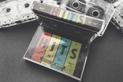 Vintage Cassette Tape Case With Cassette Mockup Product Image 5