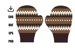 Gloves inspired by bernie senders mittens Product Image 1