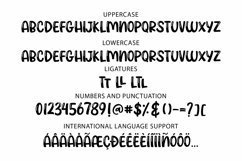 Web Font Trendsetter - a unicase craft font | Two styles Product Image 3