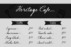 Lingerhend - Classic Script Font Product Image 4