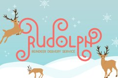 Holidays Font Duo Product Image 2