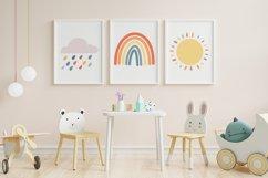 Boho Rainbow SVG bundle - png dxf eps Product Image 2