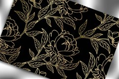 Seamless pattern with floral background. Floral vintage wall Product Image 3