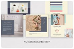 PRICILLE Instagram Pack | Canva, PSD Product Image 2