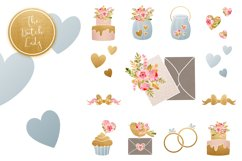 Wedding Day & Marriage Clipart Set Product Image 5