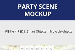 Party Scene creator Mockup, Party Decoration Mockup, 1090 Product Image 3