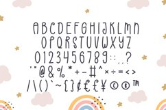 Rainbow - Cute Display Font Product Image 2