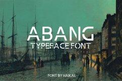 Abang Typeface Font Product Image 1