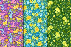 12 Spring and Easter seamless patterns Product Image 5