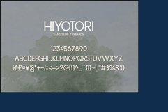 Hiyotori  3 Style Font Product Image 2