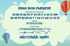 Romie Shine - a Cute Sans Serif Font Product Image 2
