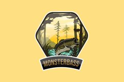 Monsterbass Badges set Product Image 4
