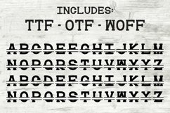 Split Monogram Font Initial Letter Personalize TTF OTF WOFF Product Image 2