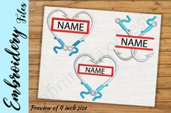 Fishing Hooks - Embroidery Design files Product Image 1