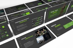 Dean Jaka Military Powerpoint Template Product Image 2