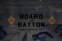 Board and Batton | A Bold Serif Product Image 1