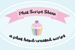 PN Phat Script Sheen Font Duo Product Image 1