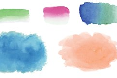Watercolor Swashes Clipart Set Product Image 3
