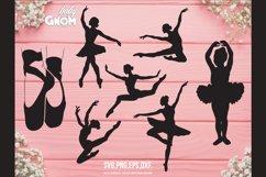 BALLERINA SVG Bundle, ballet svg, ballerina shoes svg, balle Product Image 2