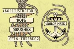 Sailor Mate's Rope Brushes V - Threads 2 Product Image 1