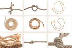 Photos of jute braided rope. Product Image 1
