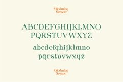 Blooming Season Floral Font Product Image 3