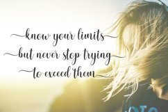 pretty heart - lovely script font Product Image 3