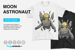 Moon Astronaut Vector Illustration Product Image 4