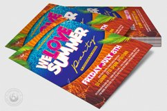 Beach Party Flyer Template V8 Product Image 4