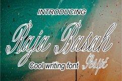 Raja Basah Script Product Image 1