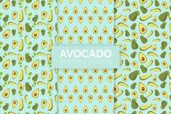 Avocado Seamless Patterns Product Image 1