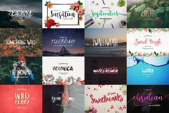 109 in 1 BEST FONT BUNDLE Product Image 4
