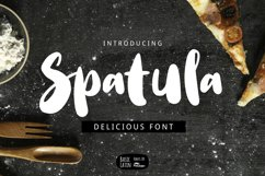 Spatula Cooking Font Product Image 1