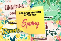 Complete Bundle - All Year Season Crafting Font Collection Product Image 2
