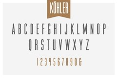 Köhler | Ultra Condensed Family - Font Family Product Image 2