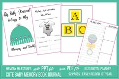 My Cute Baby Journal Package Product Image 1