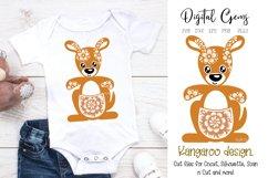 Kangaroo SVG / DXF / EPS / PNG files Product Image 1