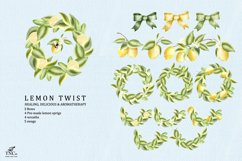 Lemon Twist Graphic Illustrations and patterns Product Image 5