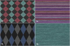 20 Knitted Weaving Background Textures Product Image 5