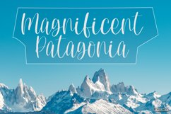 Mountain Side - A Lovely Handwritten Font Product Image 4